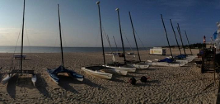 Strand beim Sylter Catamaran Club
