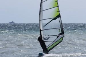 Windsurfen beim WSCK